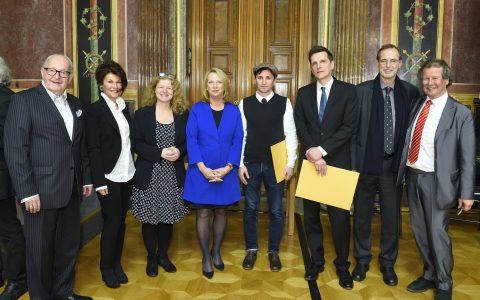 Verleihung des Demokratiepreises 2016 der Lupac-Stiftung